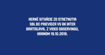 Observing zápasu SBL č.20 BC Prievidza vs BK Inter Bratislava