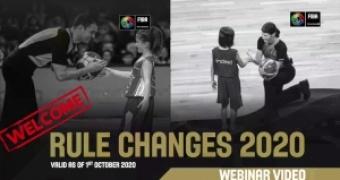 Rule changes 2020 webinar video